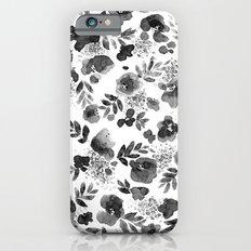 Floret Black and White Slim Case iPhone 6