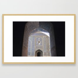 Esfahan Framed Art Print