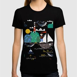 Pirates Ahoy Blue T-shirt