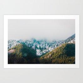 Green Mountain Paradise Art Print