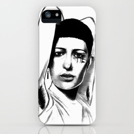 Loving yourself is a radical act iPhone Case