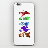 spice girls iPhone & iPod Skins featuring The Spice Girls by Greg21