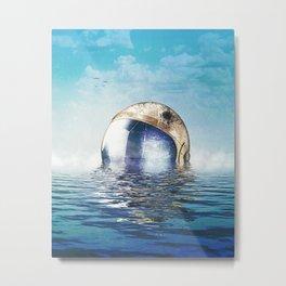 Flooded Metal Print