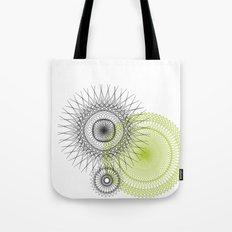 Modern Spiro Art #3 Tote Bag