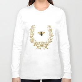 French Bee acorn wreath Long Sleeve T-shirt