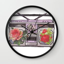 Mixed Tape Wall Clock