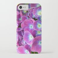 hydrangea iPhone & iPod Cases featuring Hydrangea by Trevor Jolley