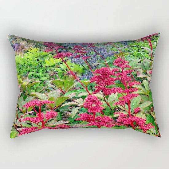 Flower Burst   Flower Garden   Flowers Rectangular Pillow