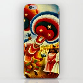 Oaxaca Mexico Vintage Travel iPhone Skin