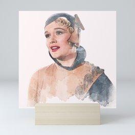 Lina Lamont - Jean Hagen - Singin' in the Rain - Watercolor Mini Art Print