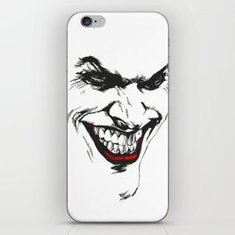 Joker vector iPhone Skin