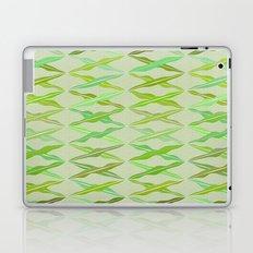 crisscrossed leaves Laptop & iPad Skin
