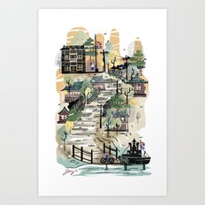 From Up on Poppy Hill Art Print
