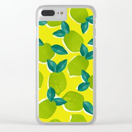 Limes for daysss Clear iPhone Case