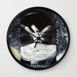 THREE SUFIS Wall Clock