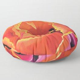 Princess Irene Tulips II Floor Pillow