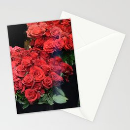 Paris Red Roses Parisian Roses Fleur Prints and Home Decor Stationery Cards