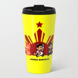 8-bit Andres Bonifacio 2 Travel Mug