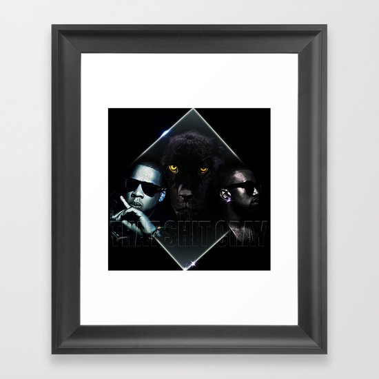 That Ish Cray Framed Art Print