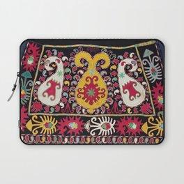 Lakai Tribal Nomad Antique Uzbekistan Horse Cover Print Laptop Sleeve