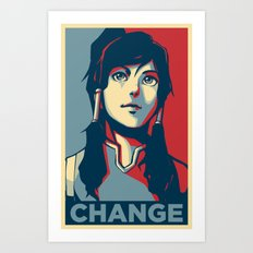 Avatar Changes Art Print