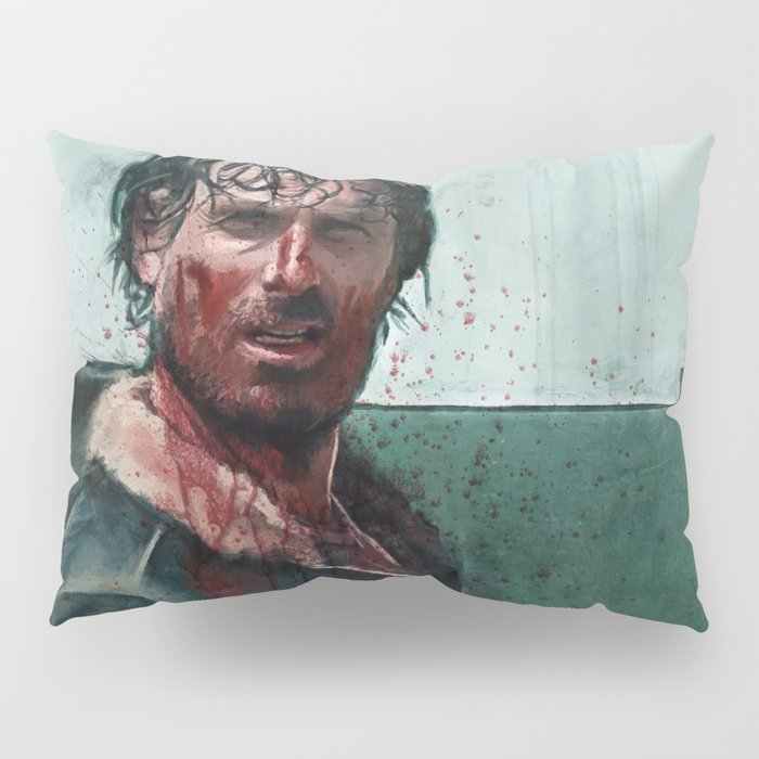 Don't Mess WIth Rick Grimes - The Walking Dead Pillow Sham