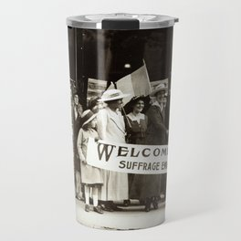 Suffrage Envoy Photograph (1915) Travel Mug