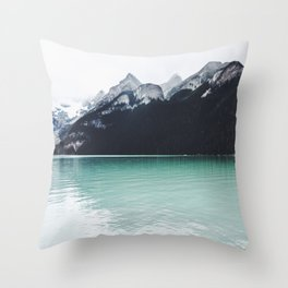 Lake Louise Reflections  Throw Pillow