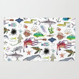 Under the Sea Alphabet Rug