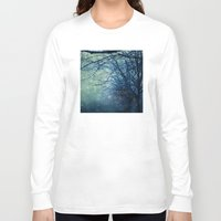 silent Long Sleeve T-shirts featuring Silent Night  by Laura Ruth
