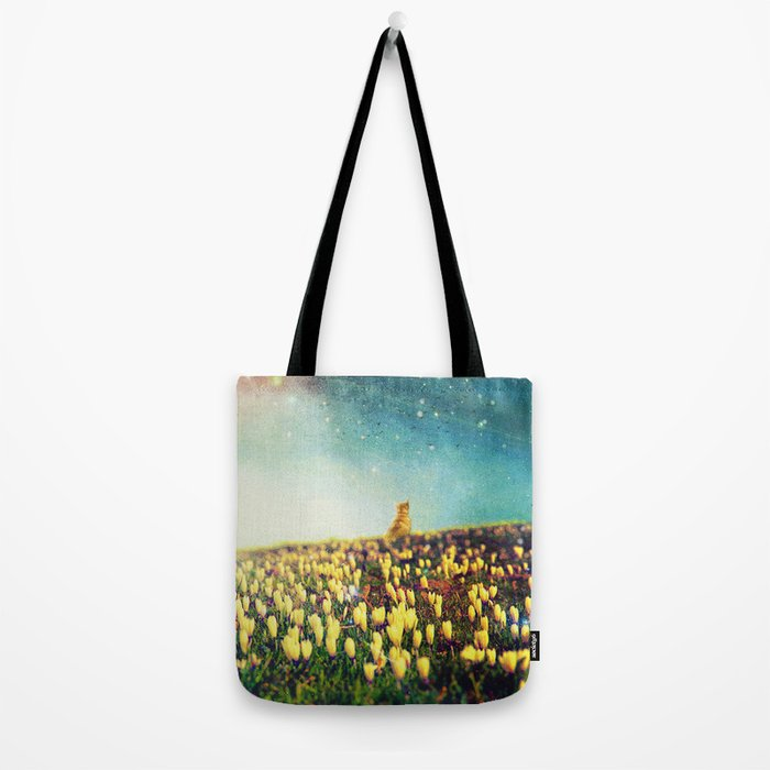 Watching them fly Tote Bag