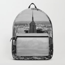 where dreams are made of (black and white) Backpack