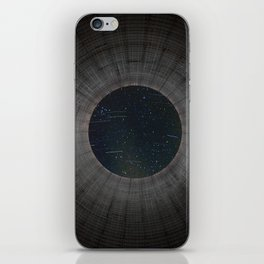 Looking up a Nuclear Cooling Tower iPhone Skin