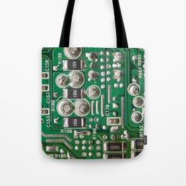 Circuit Board Macro Tote Bag