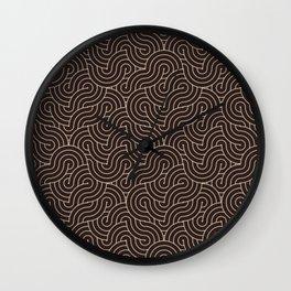 SWIRL / Coffee Wall Clock