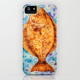 Halibut iPhone Case