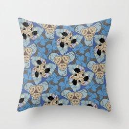 Jewel Thief tessellation Throw Pillow