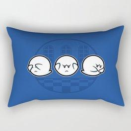 Boo No Evil Rectangular Pillow