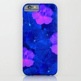 Night nasturtium iPhone Case