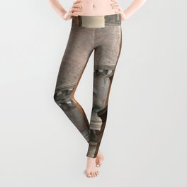 Street View of the Pantheon of Rome Leggings