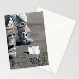 Moon Memorial Stationery Cards
