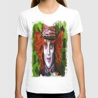 mad hatter T-shirts featuring Mad Hatter by grapeloverarts