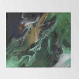 Trimeresurus Stejnegeri - Resin Art Throw Blanket