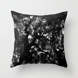 Camphor Canopy Throw Pillow