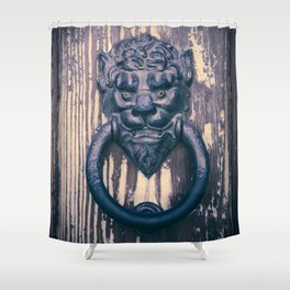 Lionhead Shower Curtain