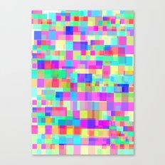 Overlapping Tetris  Canvas Print