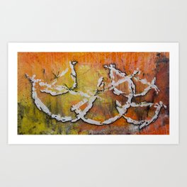 Hay naranjas! Art Print
