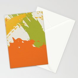 Colorful Brush Strokes AP176-5 Stationery Cards