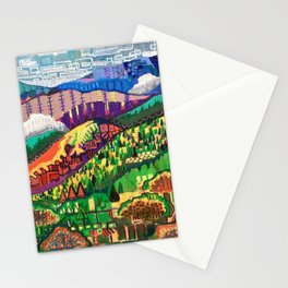 Fog in the Mountains Stationery Cards