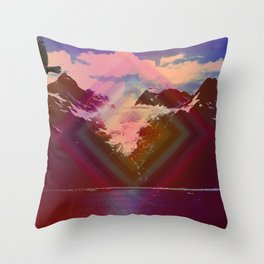 Into another dimension Throw Pillow